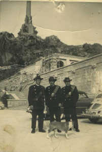 Trabajadores del Valle de los Caídos (Patrimonio Nacional) Foto: Belén Moreno