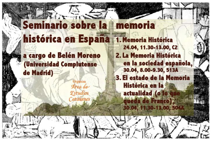 La Memoria Histórica en España